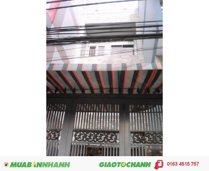 Nhà bán MT Quang Trung, P.10, GV DT 4x19m