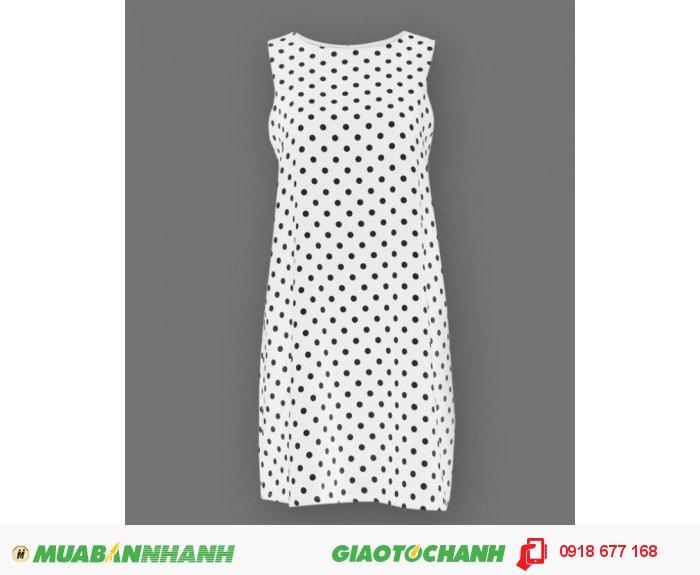 Đầm oversized chấm bi ZID245682