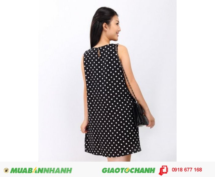 Đầm oversized chấm bi ZID24568