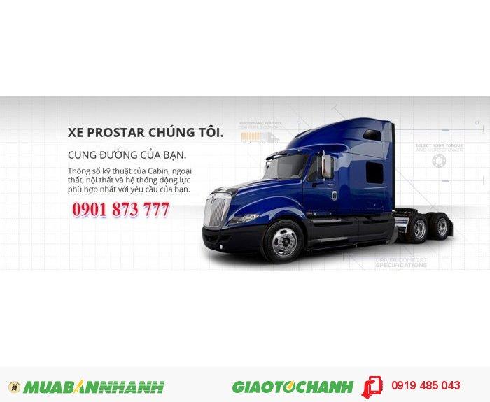 Đầu kéo Mỹ hiệu Inter , đời 2012 , máy Maxxforce Prostar+ 12.4L