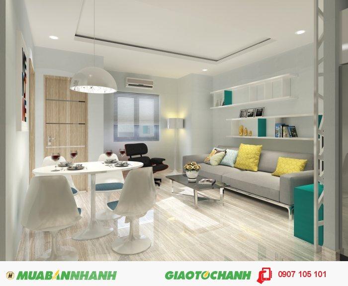 Căn hộ chung cư giá 700 - 900 tr căn vao ở ngay trung tâm quận Tân Phú