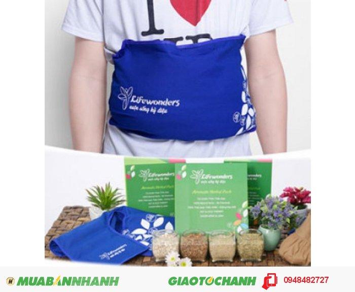 Sản phẩm túi chườm thảo mộc có 2 liệu pháp: liệu pháp nhiệt và liệu pháp hương thơm cho các cô dễ dàng lựa chọn theo sở thích., 1
