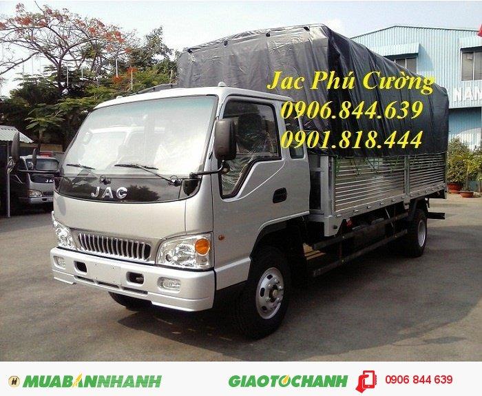 Xe tải jac 7.2T/ 7T2/ 7.25 tấn/ 7.25T/ 7,25T khuyến mãi 2% thuế trước bạ 0