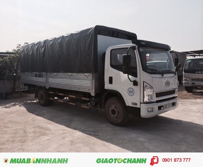 Xe tải thùng Faw 6 tấn, Giá bán xe tải Faw 6 tấn, Mua xe tải thùng Faw 6T trả góp 2
