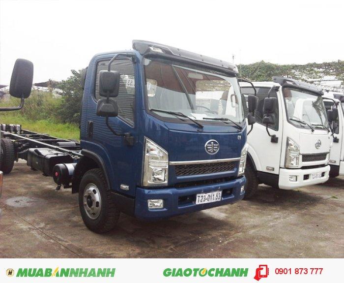 Xe tải thùng Faw 6 tấn, Giá bán xe tải Faw 6 tấn, Mua xe tải thùng Faw 6T trả góp 3