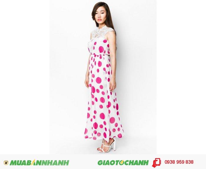 Maxi voan là thiết kế nổi bật của Anna Collection. Váy maxi là item hè rất linh hoạt khi có thể diện trong nhiều dịp, từ dạo phố đơn thuần cho đến đi biển, đi nghỉ mát., 1