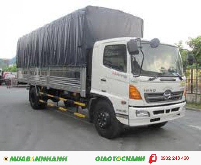 Bán Xe tải Hino 16 tấn FL, Thùng mui bạt 0