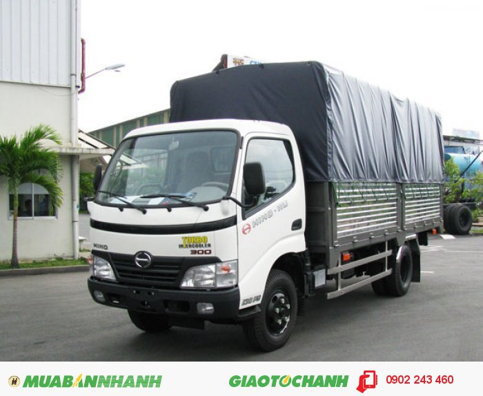 Bán Xe tải Hino 16 tấn FL, Thùng mui bạt 2