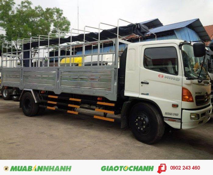 Bán Xe tải Hino 16 tấn FL, Thùng mui bạt 3
