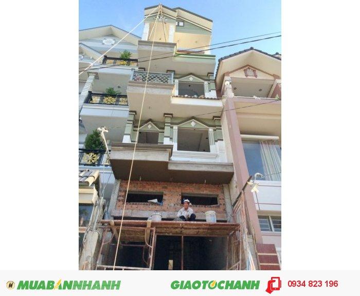 Biệt thự Quận 7, 4x23, 4 lầu, Hẽm 1015 Huỳnh Tấn Phát, Quận 7