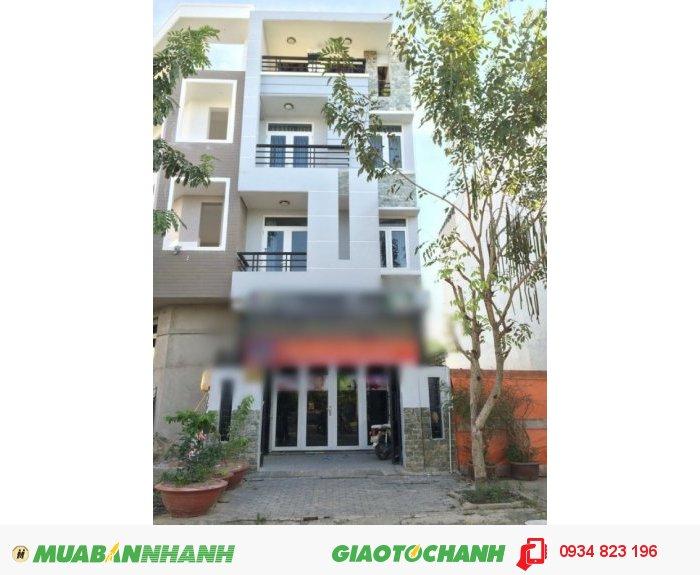 Cần bán gấp nhà phố 3 lầu, ngay khu dân cư savimex, F Phú Thuận, Quận 7.