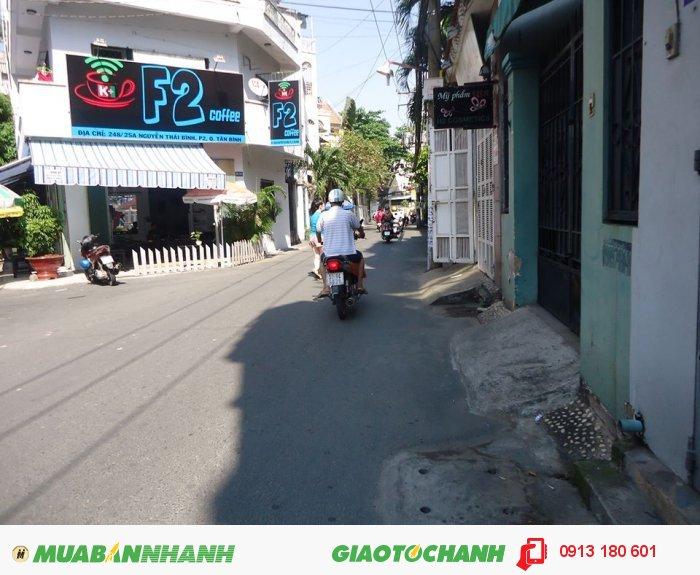 Bán gấp nhà hẻm xe hơi đường Nguyễn Thái Bình, dt: 3.6x21, giá: 5.1 tỷ