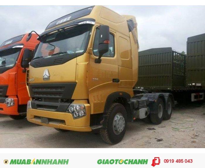 Chuyên bán xe đầu kéo Howo A7 T5G nhập khẩu chính hãng, Mua xe đầu kéo Howo máy 340 375 420 mã lực 3