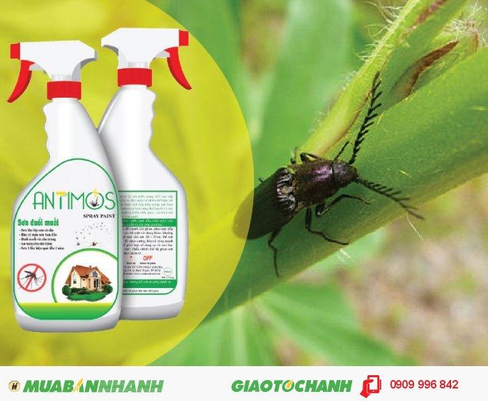 Sơn trong đuổi côn trùng Antimos | Quy cách: 600ml | Giá: 200.000đ | Mô tả: Để diệt muỗi, ruồi, gián, kiến, … chúng ta thường dùng thuốc xịt, nhan trừ muỗi, kem chống muỗi, . . . . Tuy nhiên giải pháp này chỉ có hiệu quả trong vài ngày. Đặc biệt các hóa chất này có thể gây nguy hiểm cho sức khỏe gia đình bạn. Sơn đuổi muỗi thảo dược Antimos là sơn nước cao cấp có khả năng đuổi được muỗi, kiến, gián, côn trùng . . . . . Đặc biệt sơn 1 lần hiệu quả từ 1 đến 2 năm., 1
