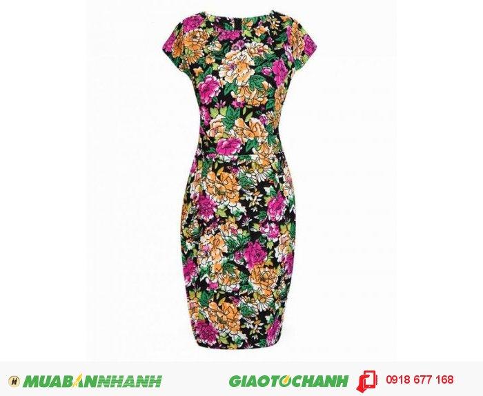 Đầm lady hoa Hải Đường sang trọng ZID300282