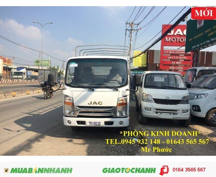 Xe JAC 1.9 tấn. xe tải JAC 1T99 máy ISUZU, xe tải JAC 1.99t 0