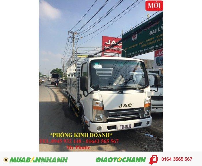 Xe JAC 1.9 tấn. xe tải JAC 1T99 máy ISUZU, xe tải JAC 1.99t 1