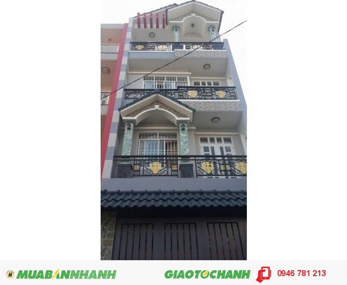 Nhà mới xây Lê Văn Quới 5mx17.5m xây 1 trệt 2 tầng