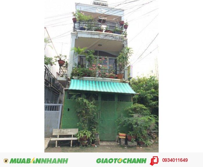 Bán gấp nhà phố 2 lầu, hẽm 8m, đường Gò Ô Môi, F.Phú Thuận, Quận 7 (Hẽm 48)