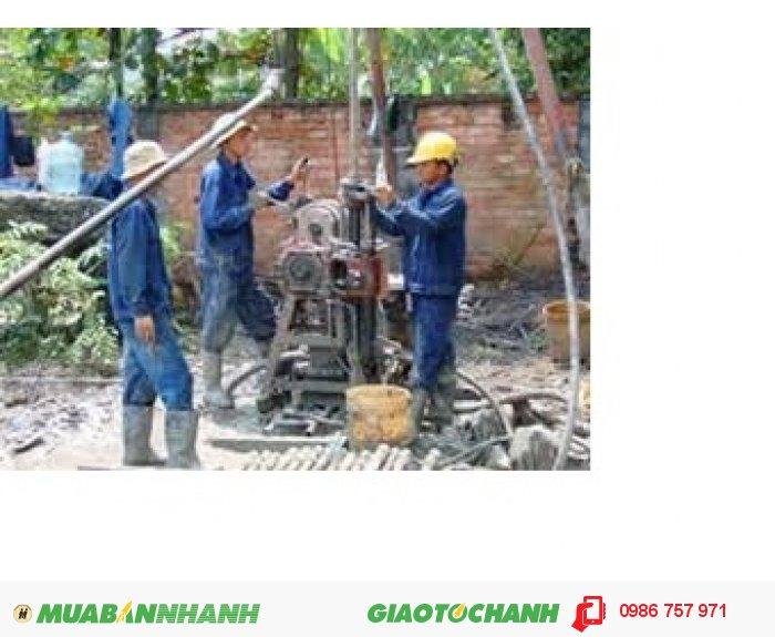 Dịch vụ khoan sửa giếng giá rẻ làm việc TP.HCM 24/24H
