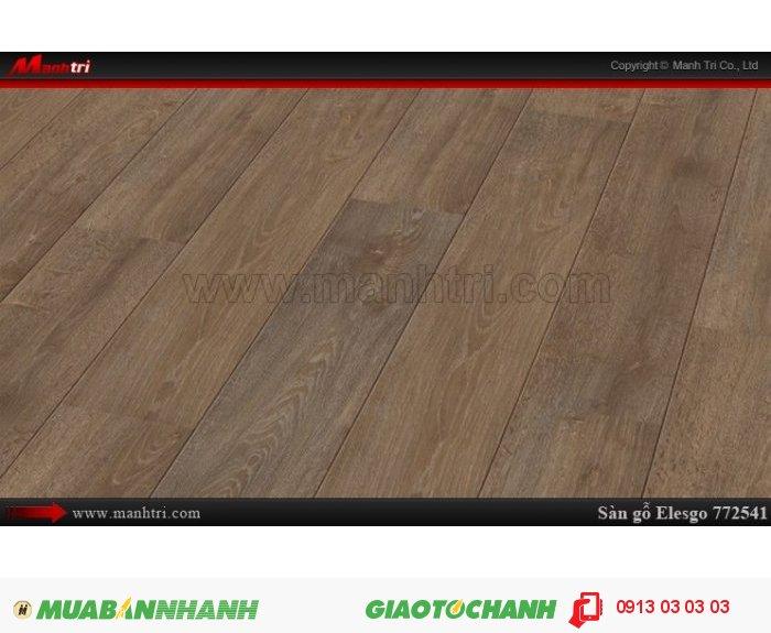 Sàn gỗ công nghiệp Elesgo 772541, sàn gỗ chính hãng| Qui cách: 1184 x 185 x 8 mm| Xuất xứ: Công nghệ đức - Chống trầy: AC4| Ứng dụng: Thi công lắp đặt làm sàn gỗ nội thất trong nhà, phòng khách, phòng ngủ, phòng ăn, showroom, trung tâm thương mại, shopping, sàn thi đấu. Giá: 429.000VND, 2