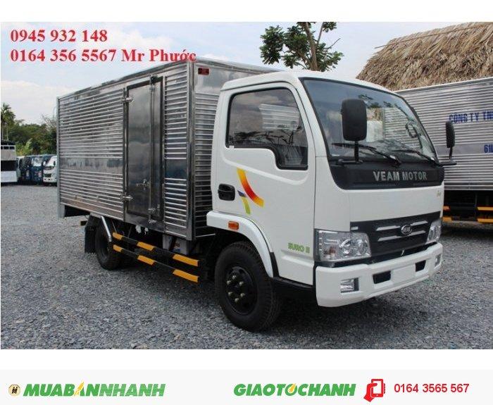 Xe veam 2 tấn, VEAM VT200A 2 tấn, mua xe VEAM tặng thùng, VEAM 2 tấn tặng thùng