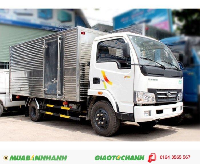 Xe veam 2 tấn, VEAM VT200A 2 tấn, mua xe VEAM tặng thùng, VEAM 2 tấn tặng thùng 1