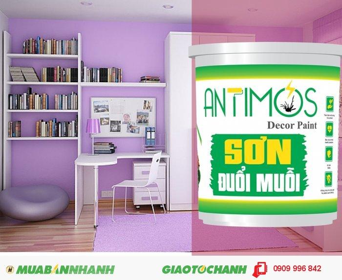 Sơn màu đuổi gián Antimos   Quy cách: 1000ml   Giá: 250.000đ   Dùng để sơn lại căn nhà, hoặc cho công trình đang xây dựng.., 5