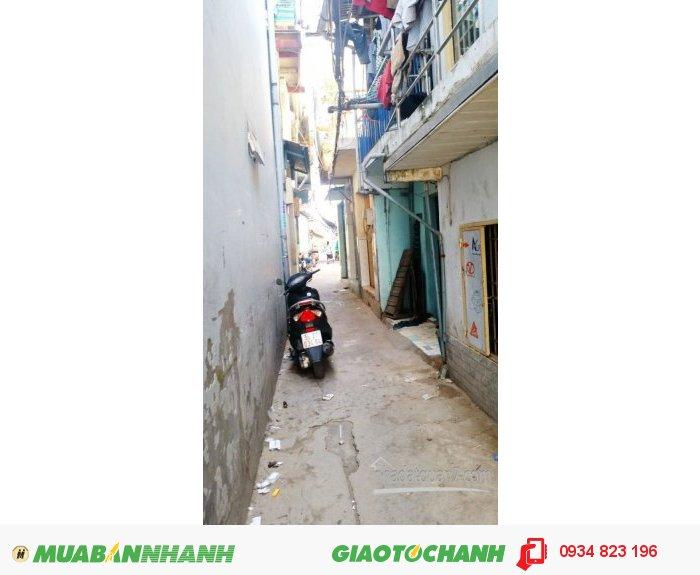 Bán nhà 1 lầu đúc giả đẹp hẽm 30 đường Lâm Văn Bền, Quận 7 (Hẽm 2.5m).