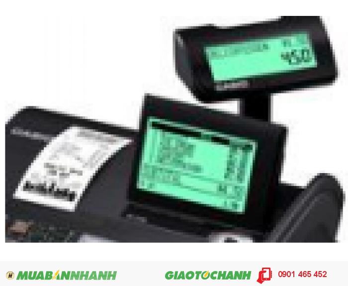 Bán máy tính tiền Casio 2 màn hình hiển thị giá rẻ cho Quán Ăn tại Châu Thành An Giang1