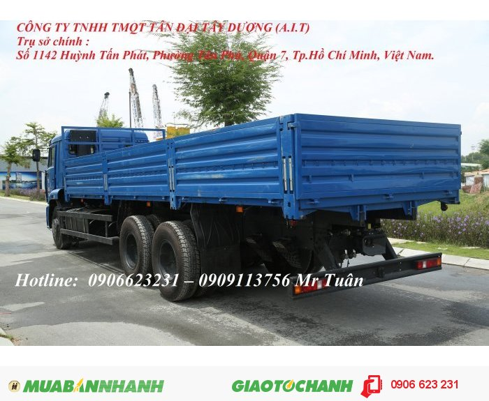 Bán xe tải thùng Kamaz 3 chân | Kamaz 65117 thùng 7m8 nhập  khẩu
