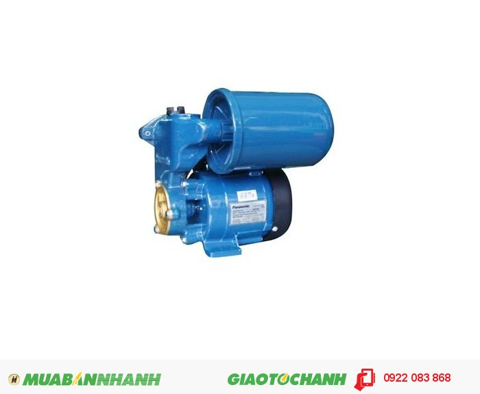 Máy bơm nước Panasonic A 130JAK: Giá: 1.400.000Hãng sản xuất: PanasonicCông suất (W): 125Lưu Lượng ( lít / phút); 30Độ cao đẩy ( m ): 27Độ sâu hút ( m): 9Đường kính ống hút/xả ( mm): 25Áp lực đóng mở (kg/cm2): 1.1 - 1.8Nguồn điện: 220V - 50HzXuất xứ: IndonesiaMáy bơm tăng áp tự động, dùng để tăng áp lực cho các thiết bị nước sử dụng trong hộ gia đình, (tự hoạt động khi sử dụng, và ngưng hoạt động khi không sử dụng), 2