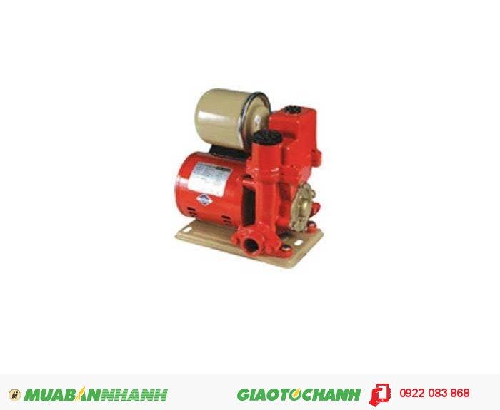 Máy bơm SHIMIZU PW – 132 BIT:Giá: 1.700.000Hãng sản xuất: ShimizuCông suất (W): 125Lưu Lượng ( lít / phút): 40Độ cao đẩy ( m ): 36Độ sâu hút ( m): 9Đường kính ống hút/xả ( mm): 25Áp lực đóng mở (kg/cm2): 1.1 - 1.8Nguồn điện: 220V - 50HzXuất xứ: IndonesiaSản phẩm có chất lượng tốt, tiết kiệm tốt nhiên liệu sử dụng., 2