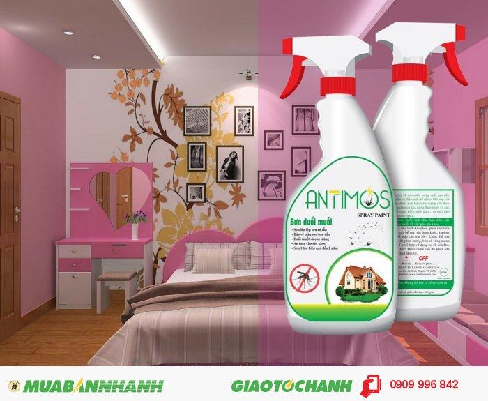 Antimos có mùi tinh dầu rất dễ chịu, an toàn với con người và vật nuôi. Đặc biệt, được sử dụng ngay cả những nơi dự trữ thức ăn, các công ty chế biến thực phẩm, trang trại chăn nuôi gia súc . . ., 2