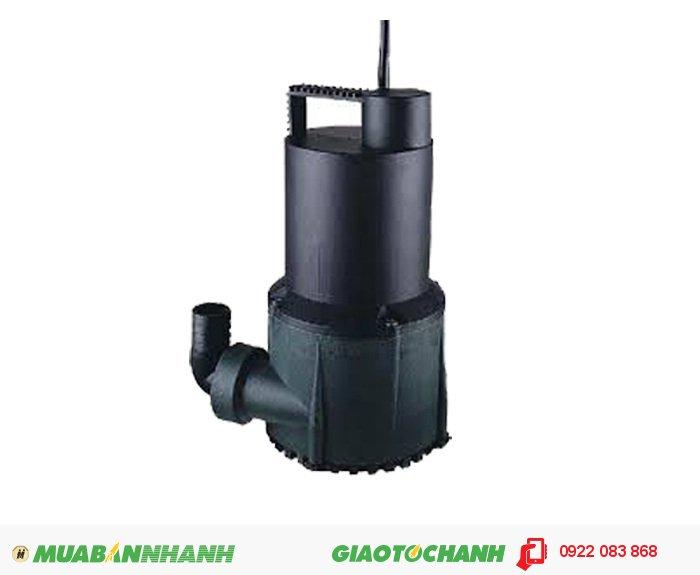 """Máy bơm nước chìm BPS 200W: Giá: 1.200.000Xuất xứ: Đài LoanCông suất (HP) : 1/4HPLưu lượng nước tối đa(m3/h) : 6 m3/h Cột áp tối đa (m): 4mĐiện áp (V) : 1pha 220VCỡ nòng: 1 1/4""""Sử dụng đường ống (mm): 42mmKích thước LxWxH (mm): 189x148x257Máy bơm nước chìm BPS 100A Vỏ mortor, đầu bơm, cánh bơm bằng sợi thủy tinh không mài mòn, 3"""