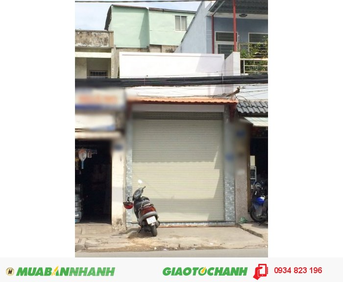 Mặt Tiền nhà cấp 4 Huỳnh Tấn Phát, Quận 7 (gần vòng xoáy Tân Thuận 1)