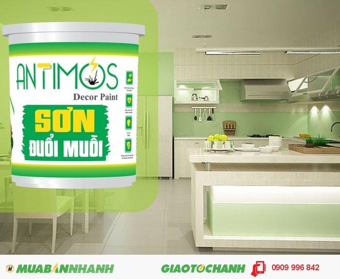 Sơn màu đuổi côn trùng Antimos | Quy cách: 1000ml | Giá: 250.000đ | Mô tả: Dùng để sơn lại căn nhà, hoặc cho công trình đang xây dựng.., 5