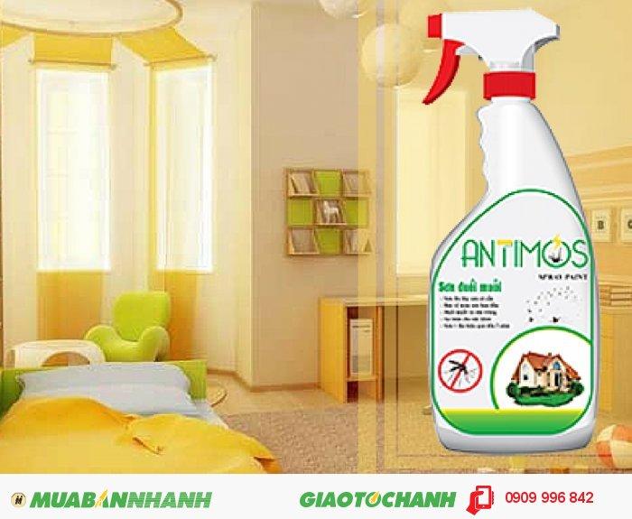 Giải pháp dùng sơn đuổi muỗi thảo dược Antimos có chi phí cực kì tiết kiệm. Chai 600ml chỉ có giá 200.000vnđ sơn được 6 mét vuông, hiệu quả từ 1 đến 2 năm, 5