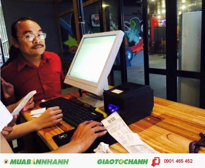 Máy Bán Hàng Cảm ứng Pos giá rẻ cho Quán Cafe tại Hạ Lang Cao Bằng1