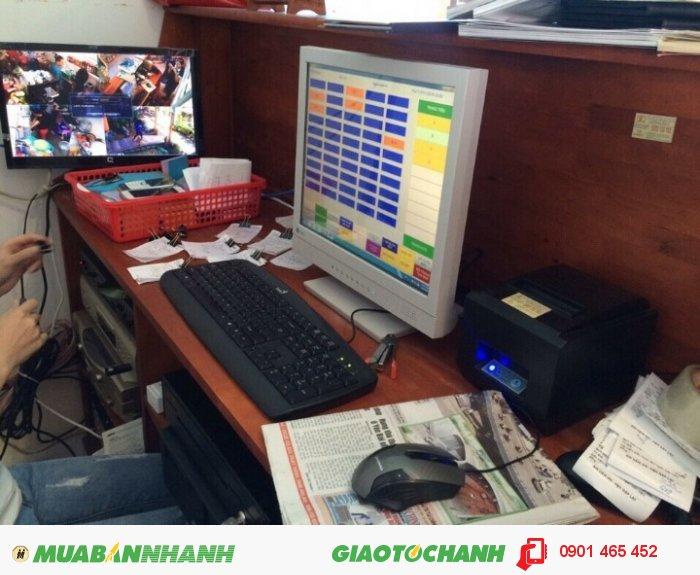 Máy Bán Hàng Cảm ứng Pos giá rẻ cho Quán Cafe tại Hạ Lang Cao Bằng3