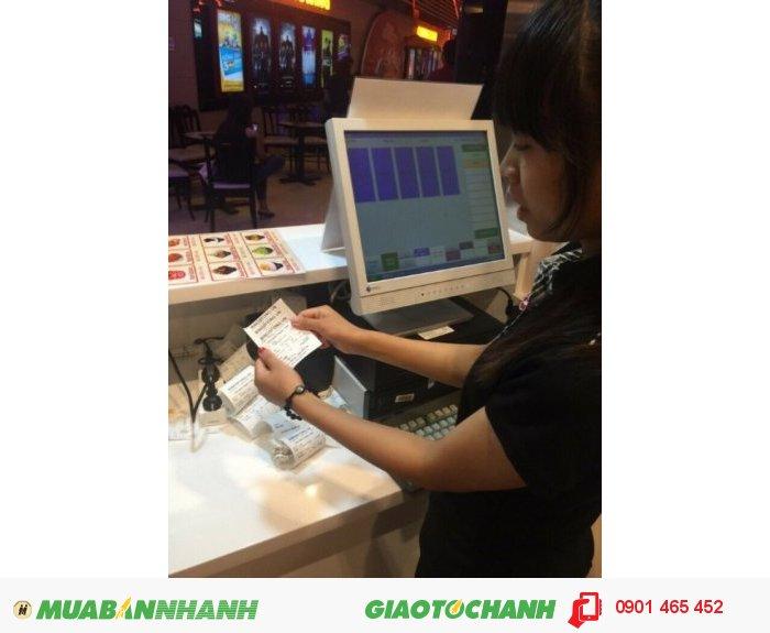 Máy Bán Hàng Cảm ứng Pos giá rẻ cho Quán Cafe tại Hạ Lang Cao Bằng4