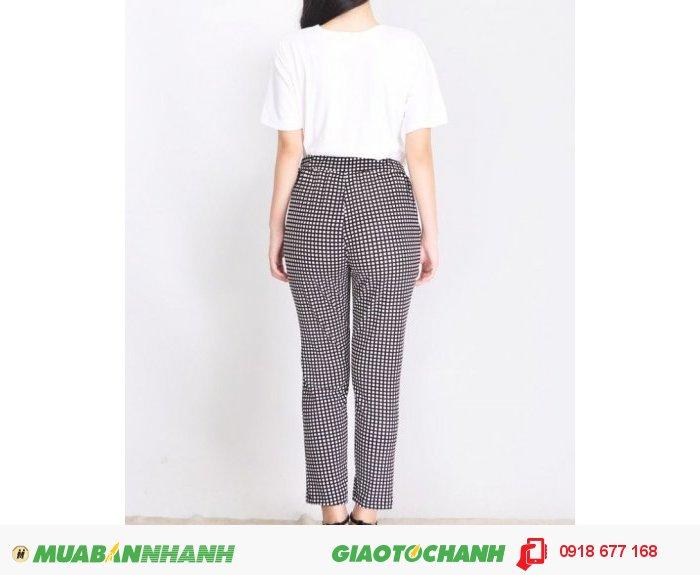 Set áo thun và quần caro Style ZID268711