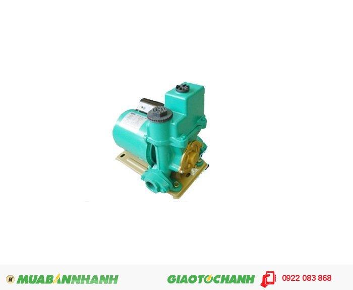"""Máy bơm nước dân dụng APP PW-200EGiá: 1.250.000Công suất (HP) : 1/4 Công suất hút (m³/h) : 2,4 Cột áp (m) : 38 Nguồn điện : 220V 1""""*1"""" Đặc điểm : họng hút-xả: 25mm Xuất xứ : Taiwan, 3"""