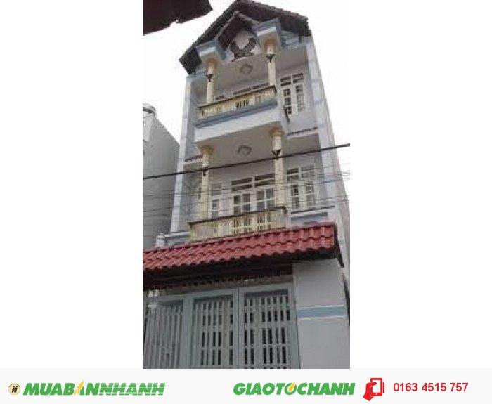 Cho thuê nhà mặt tiền Trường Chinh, P.13, Tân Bình , 3.5x15m