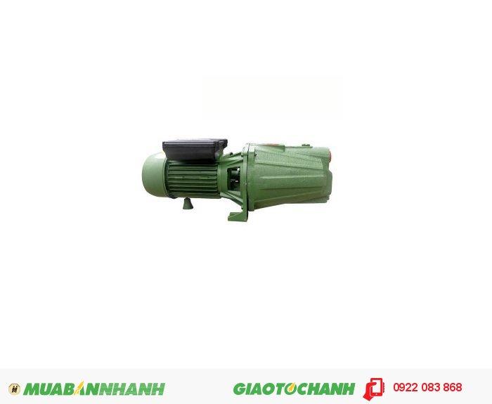 Máy bơm nước giếng Selton JET100Giá: 1.500.000Hãng sản xuất: SeltonCông suất (W): 750Lưu Lượng ( lít / phút): 50Độ cao đẩy ( m ): 49Độ sâu hút ( m): 9Đường kính ống hút( mm: 25Đường kính ống đẩy( mm ): 25Nguồn điện: 220V - 50HzXuất xứ: Việt Nam, 2