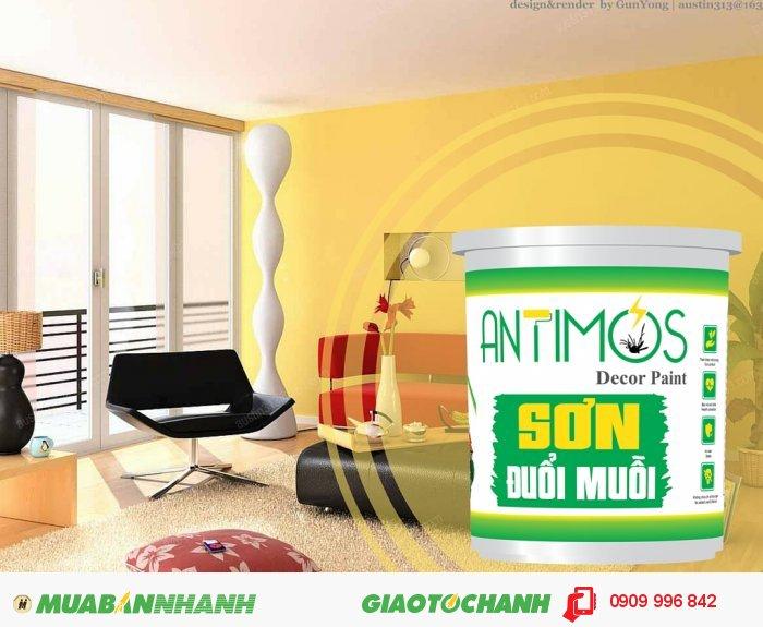 Nếu bạn đang tìm một giải pháp đuổi muỗi và côn trùng gây hại hiệu quả và an toàn thì hãy nhanh tay đặt mua ngay Sơn đuổi muỗi thảo dược Antimos., 3