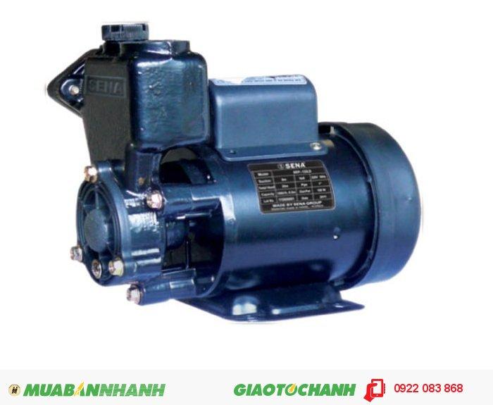 Máy bơm nước hút chân không Sena SEP 132Giá: 950.000Hãng sản xuất: SenaCông suất (W): 125Lưu Lượng ( lít / phút): 33Độ cao đẩy ( m ): 18Độ sâu hút ( m): 9Đường kính ống hút( mm): 25Đường kính ống đẩy( mm ): 25Loại nhiên liệu: ĐiệnXuất xứ: Việt Nam, 2