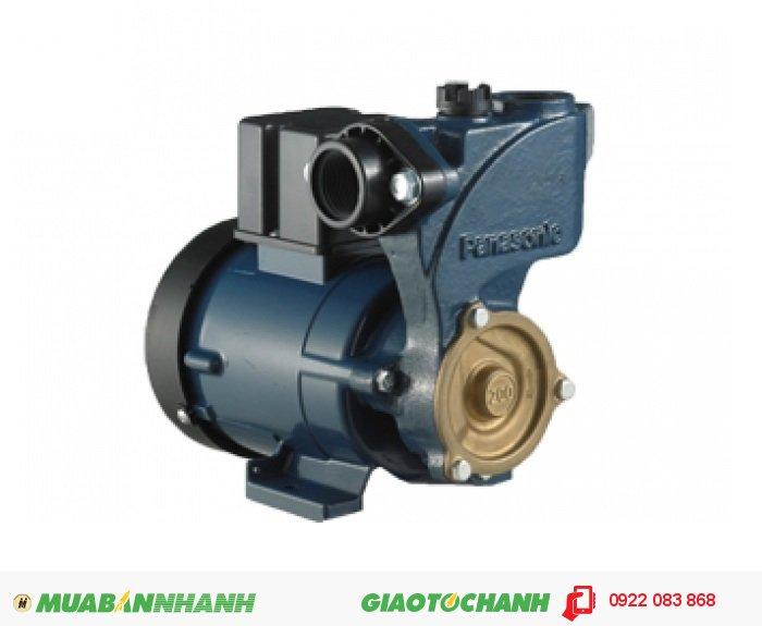Máy bơm nước hút chân không Panasonic GP 200JXKGiá: 1.230.000Hãng sản xuất: PanasonicCông suất (W): 200Lưu Lượng ( lít / phút): 45Độ cao đẩy ( m ): 29Độ sâu hút ( m): 9Đường kính ống hút( mm): 27Đường kính ống đẩy( mm ): 27Loại nhiên liệu: ĐiệnXuất xứ: Indonesia, 4