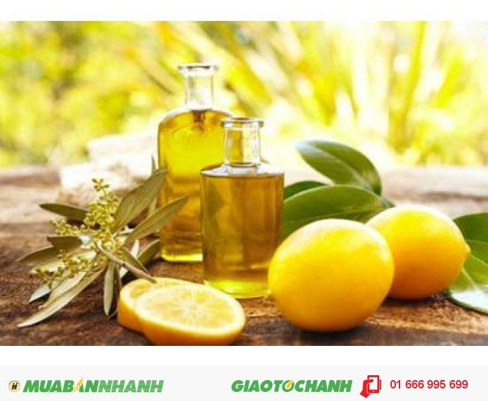 Tinh dầu chanh Lemon: mùi hương tươi mát. có tác dụng chống oxy hóa, chống ung thư, tăng cường sức đề kháng của cơ thể. Giúp điều trị bệnh khô da, nhiễm trùng và khử mùi hôi., 3