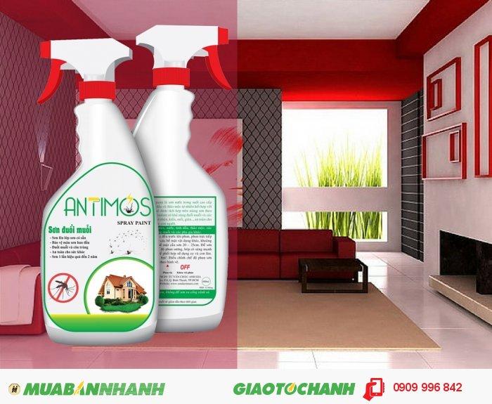 Nếu bạn đang tìm một giải pháp đuổi muỗi và côn trùng gây hại hiệu quả và an toàn cho gia đình bạn thì hãy nhanh tay đặt mua ngay Sơn đuổi muỗi thảo dược Antimos., 3
